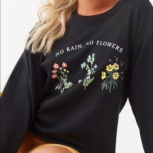 No Rain, No Flowers Graphic Tee